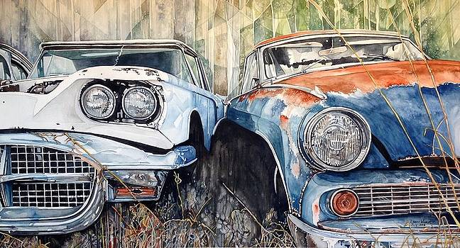 Old Cars by Lance Wurst
