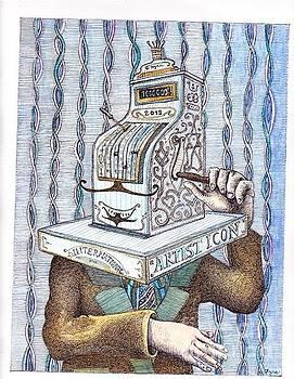 Old cashier by Kyra Munk Matustik