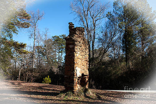 Old Chimney Still Standing by Jinx Farmer
