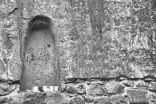 Old Church Alcove by David Durham