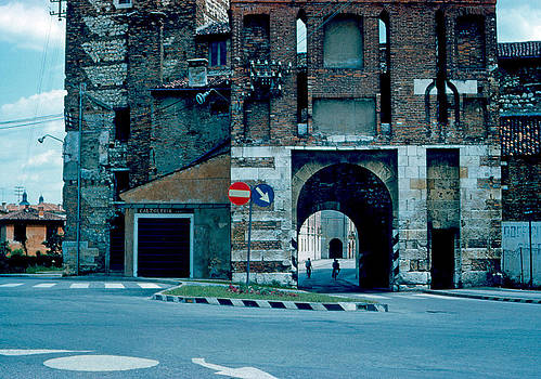 Old City Gate Vicenza 1962 by Cumberland Warden