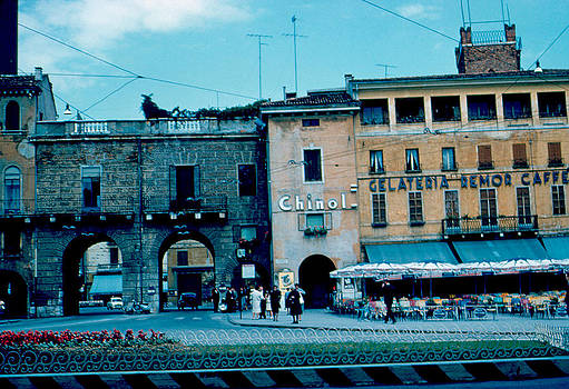 Old City Gate Vicenza 2 1962 by Cumberland Warden