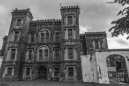 Dale Powell - Old City Jail in Black and White