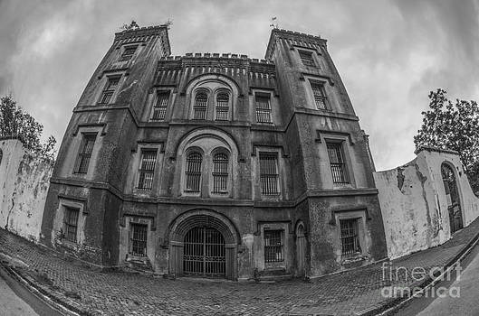 Dale Powell - Old City Jail in Fish Eye
