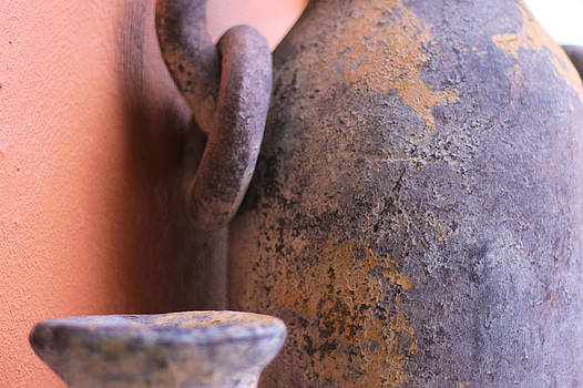 Old clay pots by Robert Bascelli