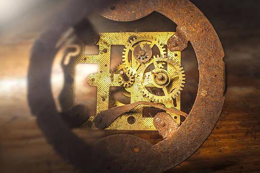Old Clock Mechanism by Martin Joyful