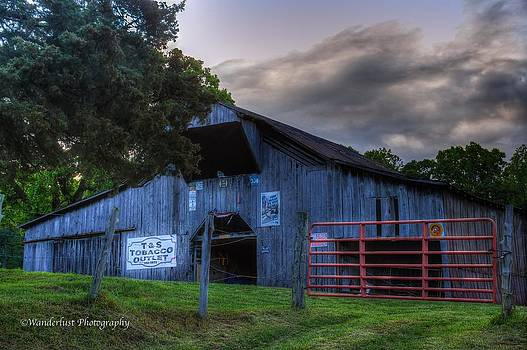 Old Conasauga Barn  by Paul Herrmann