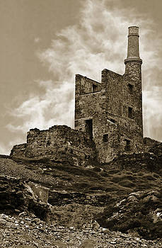 Jane McIlroy - Old Copper Mine West Cork Sepia