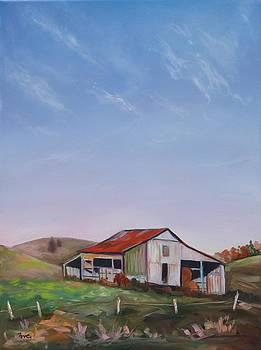 Old Country Barn by Eve  Wheeler