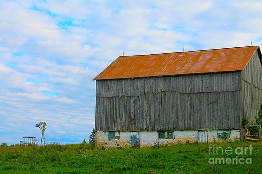 Old Country Barn by Nina Silver