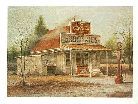 Old Country Store by Charles Roy Smith
