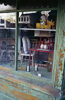 Old Country Store Display in Virginia by Thomas D McManus