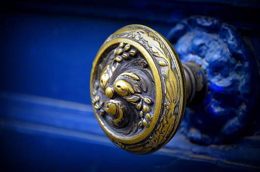 Old Door Handle by Riad Belhimer