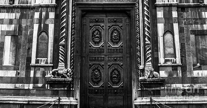 Steven  Taylor - Old Door in Florence