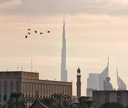 Old Dubai by John Swartz