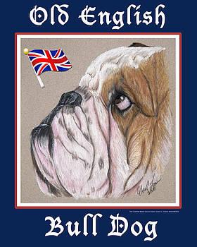 Old English Bull Dog by Ellen Lyner
