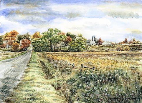 Harris Road Farm by Marshall Bannister