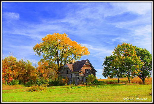 Old farm home by Sheila Werth