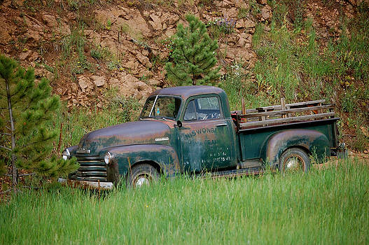 Old Farm Truck by Sherlyn Morefield Gregg