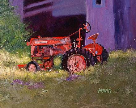 Old Farmall by Philip Hewitt