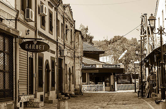 Old-fashioned buildings. by Slavica Koceva