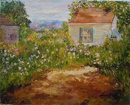 Old Fashioned Garden by Barbara Pirkle