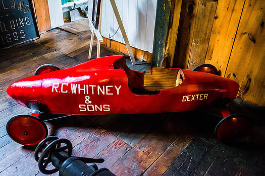 Old Fashioned Soapbox Derby Car by Jason Brow