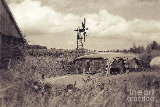 LHJB Photography - Old Fiat Millecento
