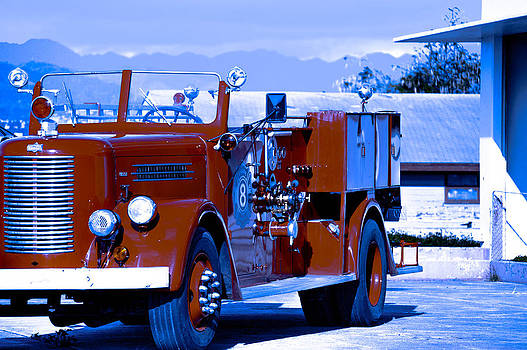 Old Fire Engine by Lisa Cortez