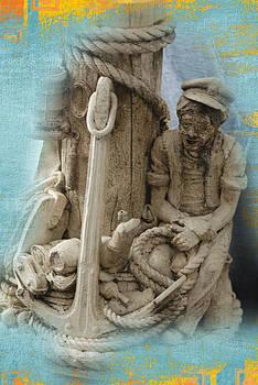 Old Fisherman by Barbara Mundt