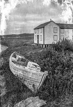 Edser Thomas - Old Fishing Skiff - Aged