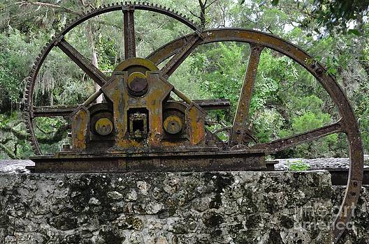 Wayne Nielsen - Old Florida Sugar Mill Stands with Gears Silent