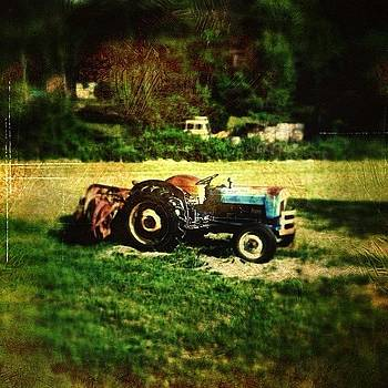 Old Ford Tractor by Paul Cutright