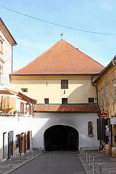 Old Fortress Gate Zagreb by Borislav Marinic