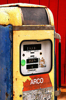 Art Block Collections - Old Gas Pump