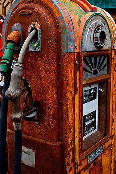 Old Gas pump by Michael Molumby