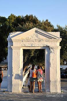 George Atsametakis - Old gate in Ios town