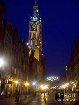 Old Gdansk November Nights by J Anthony Shuff