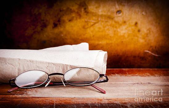 Tim Hester - Old Glasses on Desk