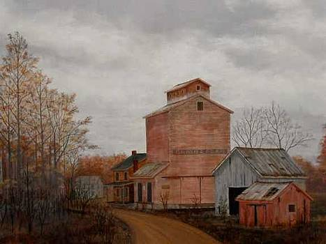 Old Grain Elevator by Dale Lewis