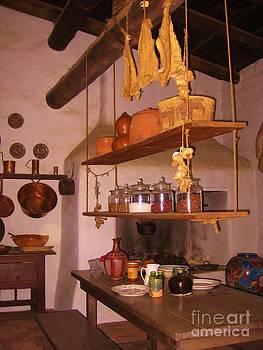 Old Grandma's Kitchen by Claudia Ellis