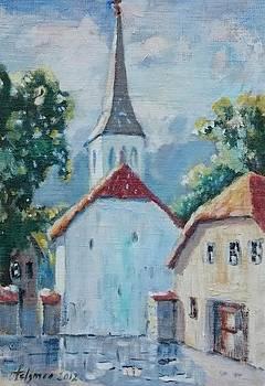 Old Haapsalu by Ylo Telgmaa