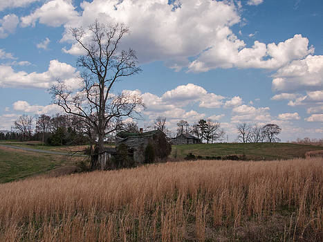 Old homestead Surry County by Kelvin Taylor