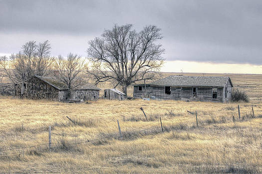 James Steele - Old House on Pawnee Grasslands Colorado.