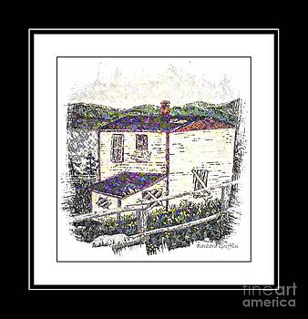 Barbara Griffin - Old House Sketch