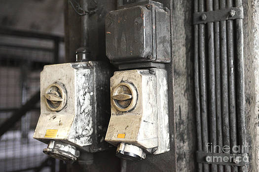 Patricia Hofmeester - Old industrial light switches
