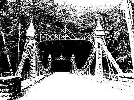Old Iron Bridge by Penny McClintock