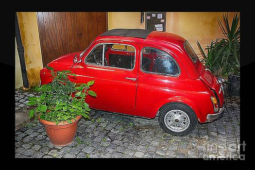 Old Italian Car FIAT 500  by Stefano Senise