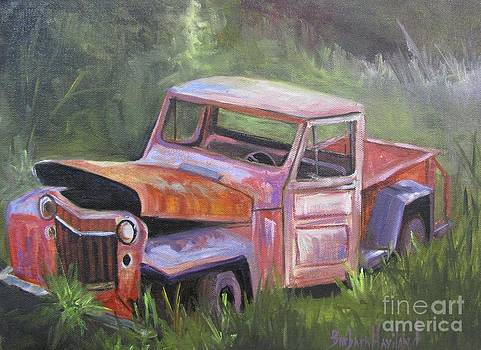 Old Jeepster  by Barbara Haviland