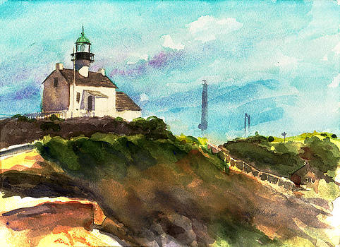 Old Lightouse at Cabrillo by Alice Picado